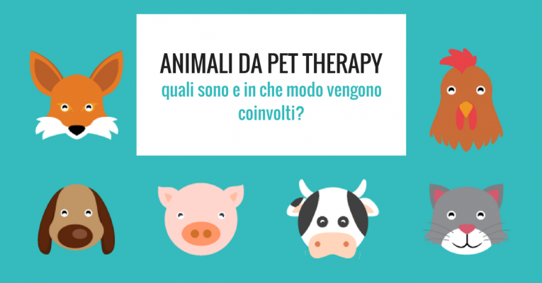 animali da pet therapy
