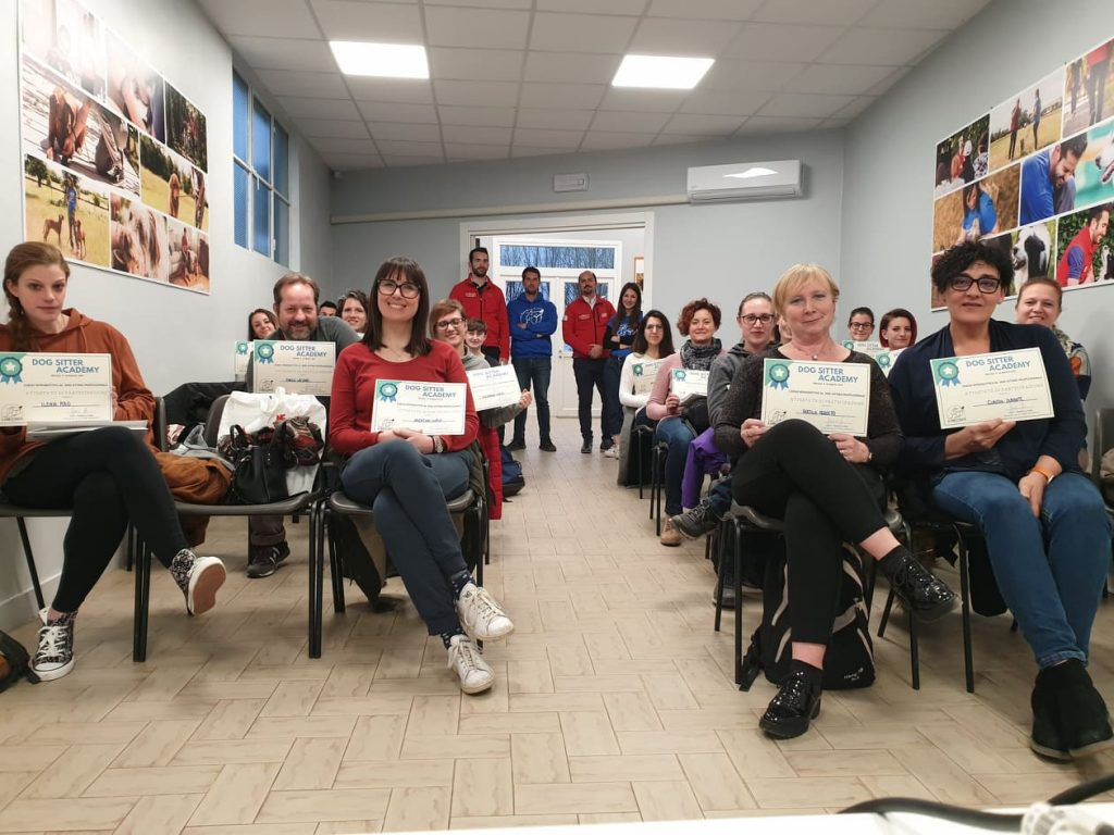 foto dogsitter academy 2019 il cane istruito